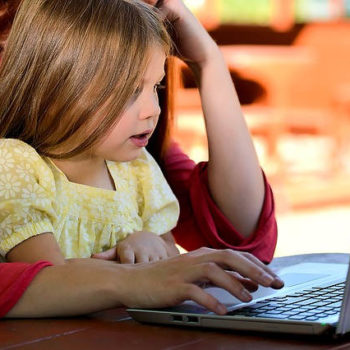 Dziecko nauka informatyki